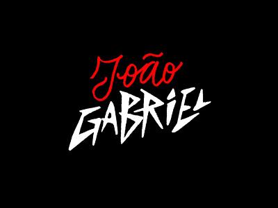 João Gabriel font lettering typography