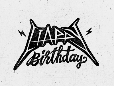 Happy Birthday happy birthday hand lettering lettering handlettering typography