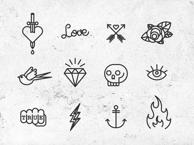 Icon Tattoo Images - Reverse Search