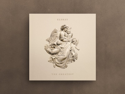 The Greatest Album Cover album art carving sculpture illustration art hermtheyounger graphic design album cover art album cover album artwork