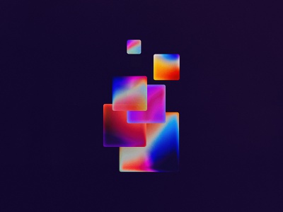 Synthesis print mobile photoshop digital art geometry abstract squares gradients gradient illustration abstract abstract art hermtheyounger herm the younger art