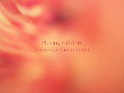 Playing with Fire — Typography cd lp print branding blur gradient james daus album artwork connary fagen roxborough custom typography typography playing with fire album cover hermtheyounger herm the younger