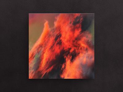 Chaos art conceptual artwork clouds inferno flames chaos fire vinyl album cover herm the younger