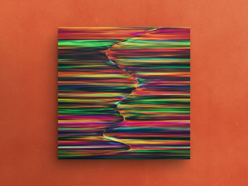 Colour Pull — Signed Art Print texture graphic design herm the younger abstract colorful album cover art hermtheyounger art print giclee screenprint poster abstract art
