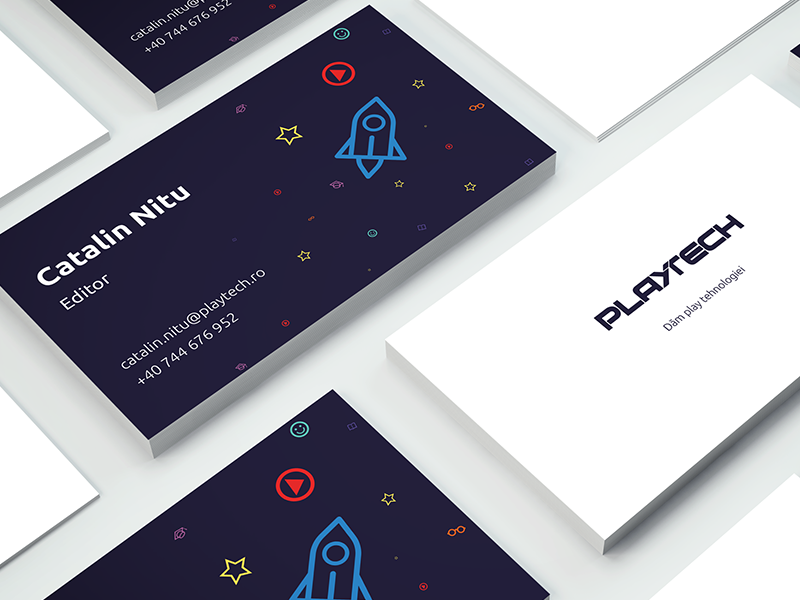 business card proposal by madalin dragnea