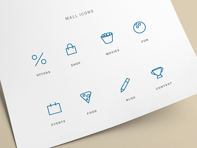 Mall site icons - free download