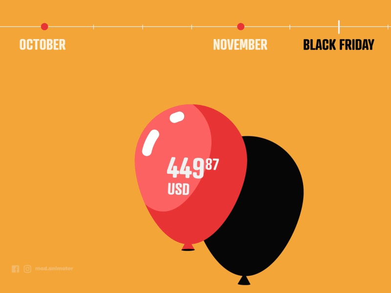 How Black Friday Works By Madalin Dragnea On Dribbble