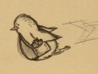 Birdy Scribbble