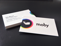 Moby Biz Cards