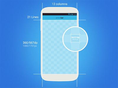 Android SmartGrid - DP Perfect (freebie) grid android freebie