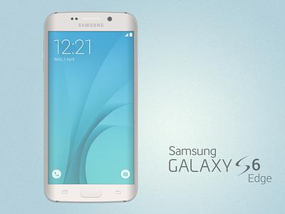 Galaxy S6 Edge Mockup (freebie) samsung galaxy s6 edge freebie free psd