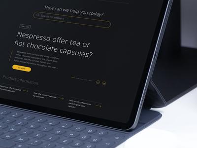 FAQ Nespresso   Re-design