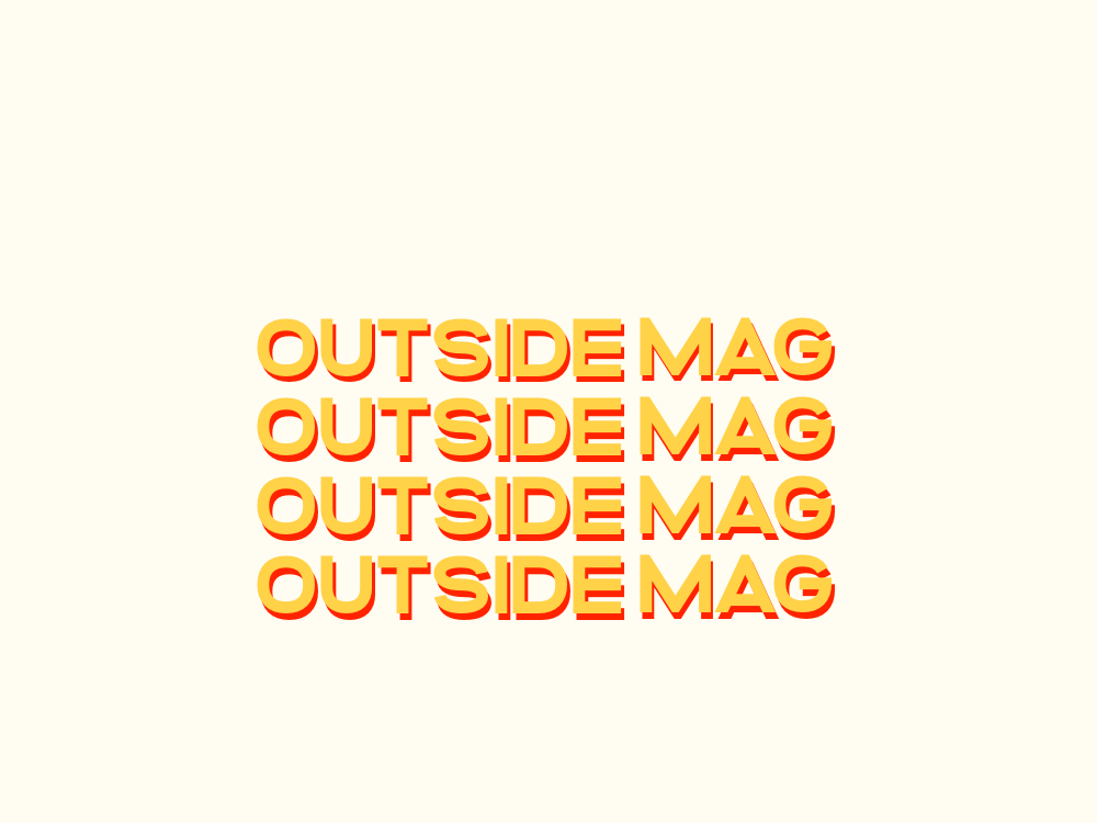 Outside Mag outdoors logo design logodesign logo