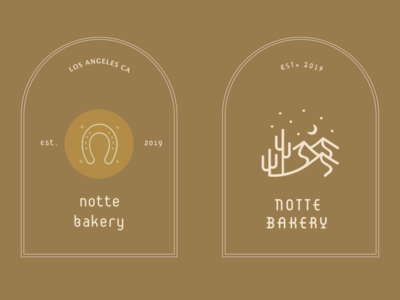 Notte Bakery - Designs
