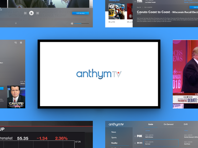 Streaming Platform tv shows minimal channels channel station live video concept tv app website design platform streaming tv sport ux uiux ui