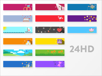 Coaching app - Flat Illustrated Cells (In Progress) relationship social mobile app template icons illustration ui flat