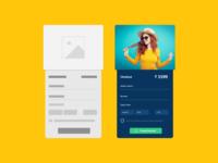 Product Checkout UI Design