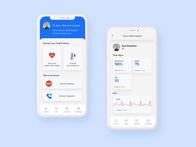 Hospital@Home hackathon healthcare figma health hospital healthapp coronavirus covid19 covid-19 app design ui app