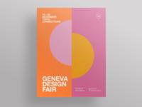 Geneva design fair poster