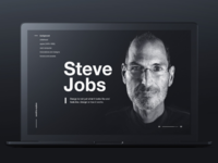 Influencers page Steve Jobs