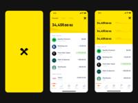 Raiffeisen banking app redesign