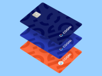 Banking card design