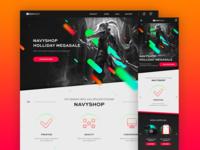 NAVYSHOP Homepage