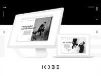 KOBE portfolio website showcase