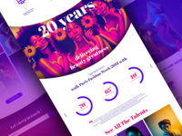POSE website concept