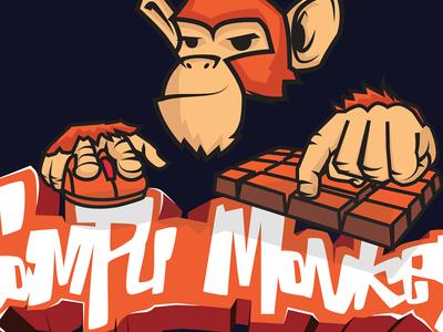 CompuMonkey Logo design