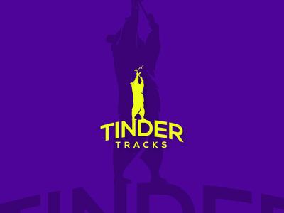 TinderTracks Logo Design