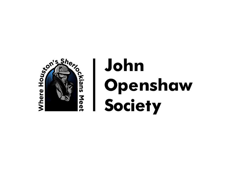 John Openshaw Society Brand 2019 logo brand identity illustration logo designer logo design design brand mark logo sherlock holmes sherlock