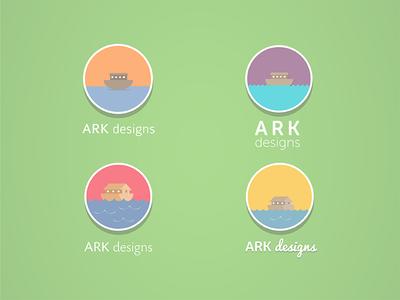 Ark Design Logo art design logo branding branding design rebrand rebranding illustration illustrator vector flat gui ui ux london colour playful photoshop