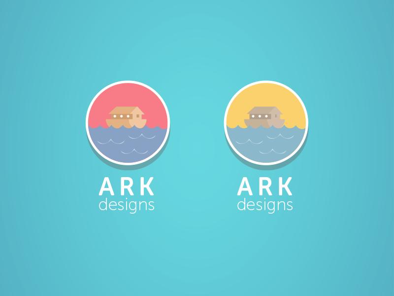 Ark Design Logo selection logo logo design branding rebranding rebrand ark ark designs design graphic design artwork vector flat illustration illustrator photoshop london ui ux gui
