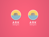 Ark Design logo_ contrast selection