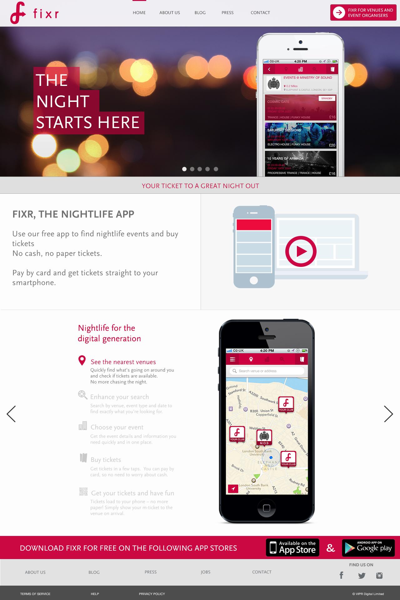 Homepage d2