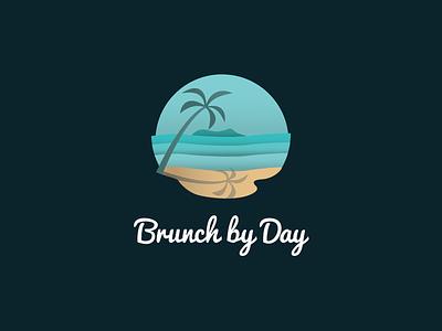 Brunch By Day Logo london melbourne hand drawn photoshop design agency illustrator illustration