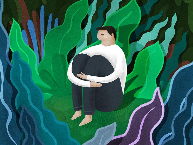 Lost london melbourne hand drawn photoshop design agency illustrator illustration