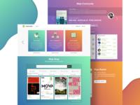 Mojoreads Landing Page
