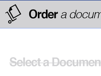 "Fun icon for ""Order a document"""