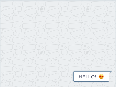 Messaging webApp's background pattern pattern background web