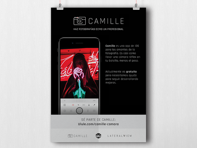 Camille Crowd Poster photo poster