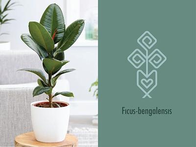 PLANT LOGO 01 plant illustration logo type illustration organic logo leaf symbol plant logo tree logo vietnam