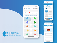 UI WEBSITE THEBANK.VN