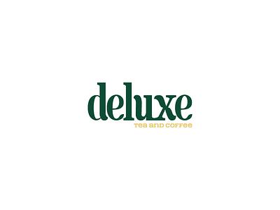 Deluxe logo on white background fashion logo design animation forest logo app design logo namecard typography illustration fashion brand branddsign logodesign logodesigns logolearn branddesign logonew branding vietnam brandnew type