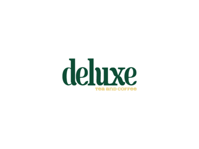 Deluxe logo on white background