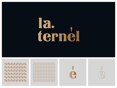 LA.TERNÉL LOGO logodesign logodesigns vietnam logo branddesign logonew logolearn branding type brandnew fashion logo