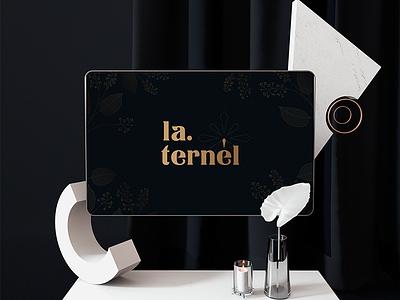 LA.TERÉL SYMBOL logodesign brandnew branddesign gradident caligraphy typography logo letter symol letter logo logo creative identity brand guideline brand design flower logo overlaystudio vietnam luxury logo fashion logo