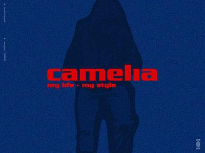 Camelia Local Brand logotype branding design guideline logo learn brand identity logo new street wear vietnam hiphop fashion logo c logo local