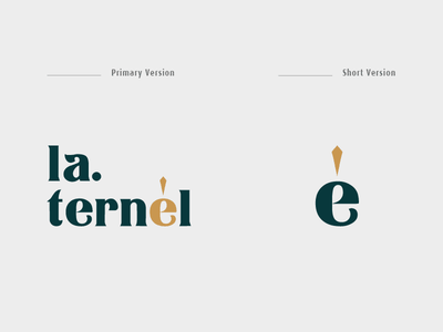 LA.TERNÉL SYMBOL logodesigns vietnam namecard branding logolearn logonew branddesign brandnew type logo design logo type